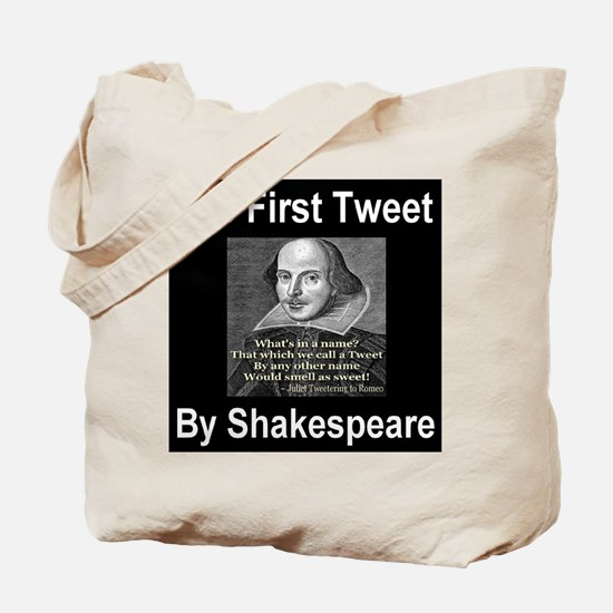 The First Tweet By William Sh Tote Bag