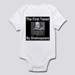 The First Tweet By William Sh Infant Bodysuit