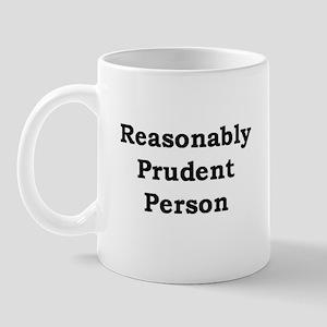 Reasonably Prudent Mug