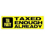 TEA Bumper Sticker (10 pk)