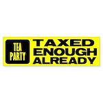 TEA Bumper Sticker