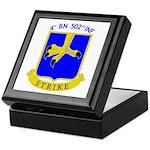 4/502 INF Keepsake Box