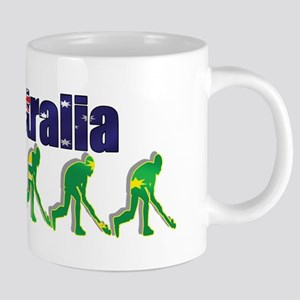 Australia Field Hockey 20 oz Ceramic Mega Mug