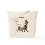 Proud Parent of a Great Pyren Tote Bag