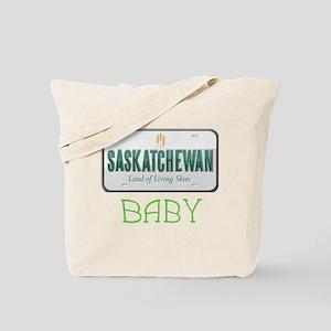 Saskatchewan Baby Tote Bag