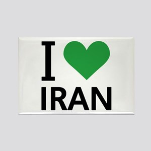 I Love Iran Rectangle Magnet