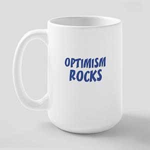 OPTIMISM ROCKS Large Mug