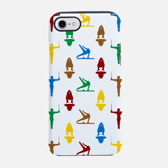 Mens Gymnastics iPhone 7 Tough Case