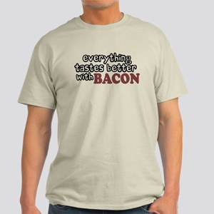Tastes Better with Bacon Light T-Shirt