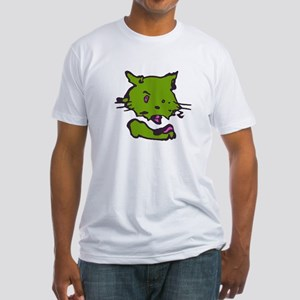 """another """"kittycafe"""" Fitted T-Shirt"""