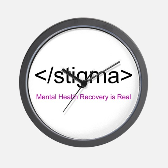 End Stigma HTML Wall Clock
