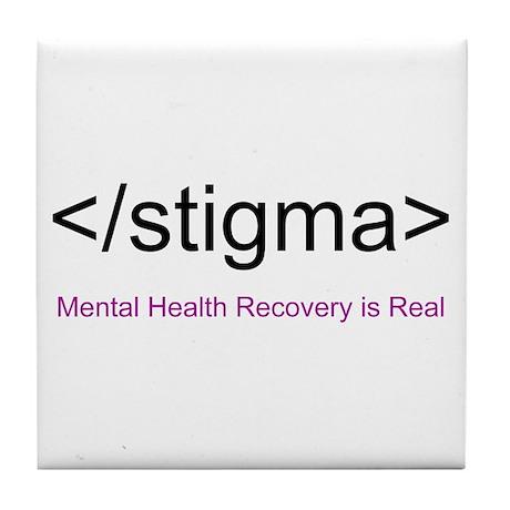 End Stigma HTML Tile Coaster