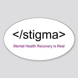End Stigma HTML Sticker (Oval)