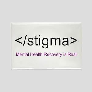 End Stigma HTML Rectangle Magnet