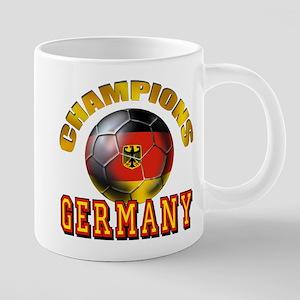 German Soccer Champions 20 oz Ceramic Mega Mug