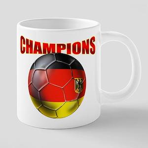 Germany Soccer Champions 20 oz Ceramic Mega Mug