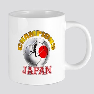 Japanese Soccer 20 oz Ceramic Mega Mug