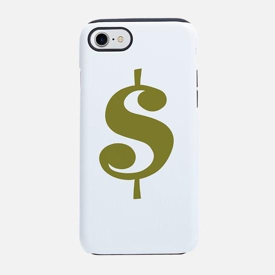 Dollar Sign iPhone 7 Tough Case