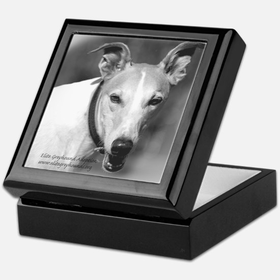 Elite Greyhound Adoption Keepsake Box