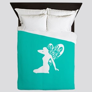 Fairy (Aqua) Queen Duvet