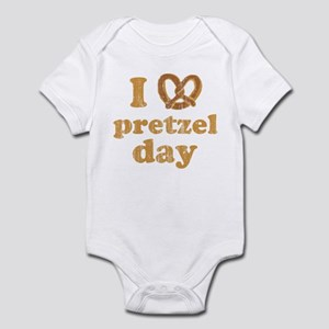 I Pretzel Pretzel Day Infant Bodysuit