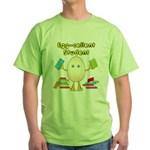 Egg-cellent Student Green T-Shirt