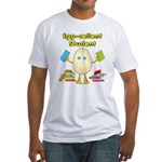 Egg-cellent Student Fitted T-Shirt