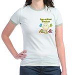 Egg-cellent Student Jr. Ringer T-Shirt