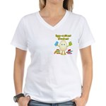 Egg-cellent Student Women's V-Neck T-Shirt