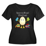Egg-cellent Student Women's Plus Size Scoop Neck D