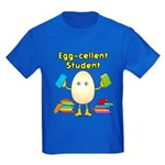 Egg-cellent Student Kids Dark T-Shirt