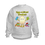 Egg-cellent Student Kids Sweatshirt