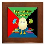 Egg-cellent Student Framed Tile