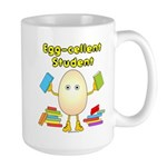 Egg-cellent Student Large Mug