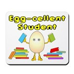 Egg-cellent Student Mousepad