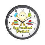 Egg-cellent Student Wall Clock