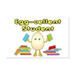 Egg-cellent Student Mini Poster Print