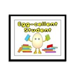 Egg-cellent Student Framed Panel Print