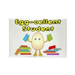 Egg-cellent Student Rectangle Magnet