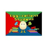 Egg-cellent Student Rectangle Magnet (10 pack)