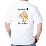 Homework Golf Shirt