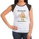 Homework Women's Cap Sleeve T-Shirt