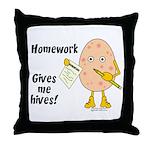 Homework Throw Pillow