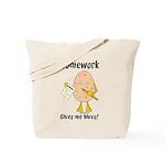 Homework Tote Bag