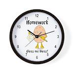 Homework Wall Clock