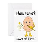 Homework Greeting Cards (Pk of 20)