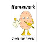 Homework Postcards (Package of 8)