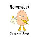Homework Mini Poster Print