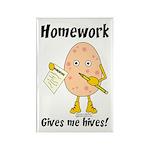 Homework Rectangle Magnet (100 pack)