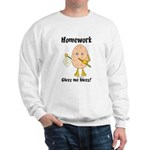 Homework Sweatshirt